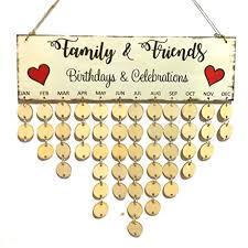 plaque diy hanging wooden birthday