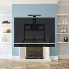 pull down tv mount over the fireplace