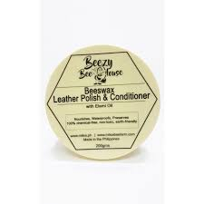 beezy bee house beeswax leather polish