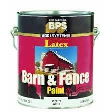 Valspar 018 3121 70 007 Barn Fence Latex Paint White 1 Gallon Toolboxsupply Com