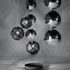 tom dixon etch mini chandelier avec