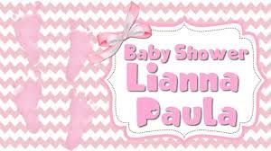 Piecitos Baby Shower Video De Invitacion O Cumpleanos De Para