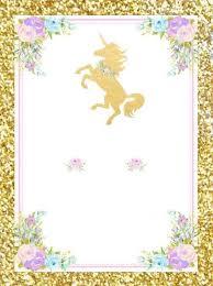 Pin De Cecy Mora En Majo Invitacion De Unicornio Invitaciones