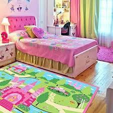 Huahoo Pink Girls Bedroom Rugs Cartoon Castle Kids Rug Bedroom Floor Rugs Nyl Ebay Girls Room Rugs Girls Bedroom Rug Floor Rugs Bedroom