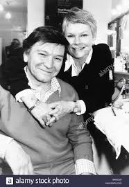 Actress Judi Dench with actor husband ...