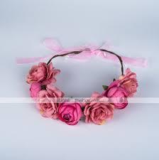 قماش زهور أغطية الرأس مع ورد 1pc زفاف مناسبة خاصة الذكرى