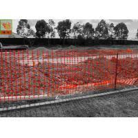 Orange Color Plastic Construction Netting 1 2m Width Construction Barrier Fence Of Plastic Construction Netting