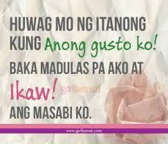 tagalog crush quotes and quotes para kay crush girl banat