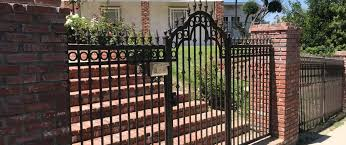 Wrought Iron Fencing Gates Telephone Entry System Security Cameras Universal Iron Works