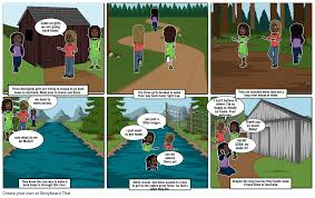 Follow The Rabbit Proof Fence Storyboard By 23jkennedy