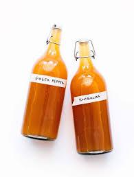 Spiced Ginger Pepper Kombucha Recipe (Ultra Fizzy!) | Live Eat Learn