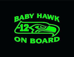 Seahawk Window Decals S Seattle Seahawks Car 6 Team Logo Vinyl Decal Sticker Wall Sutanrajaamurang