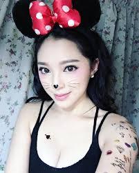mouse face makeup saubhaya makeup