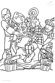 1001 Kleurplaten Sinterklaas Sint Kleurplaat Sinterklaas