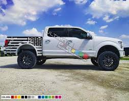 Decal Sticker Racing Stripes Body Kit Destorder Us Flag For Ford F150 F 250 F 100 American Flag Mirror Al Truck Wraps Graphics American Flag For Truck Body Kit