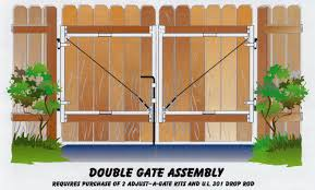 Double Swing Wood Fence Gate Double Gate Stephanie 39 S House Wood Gates Driveway Greenhouse Plans Wood Fence Gates