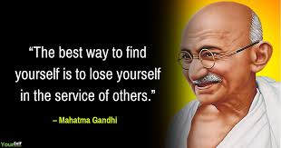 mahatma gandhi quotes that will motivate yourself to uplift our