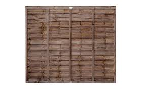 Budget Waney Lap Fence Panel Cocklestorm Fencing