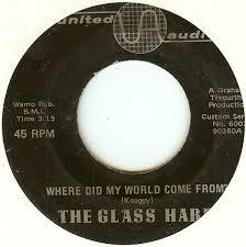 the glass harp where did my world