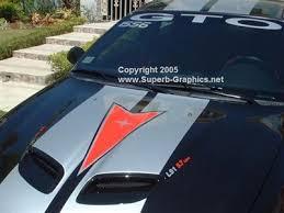 Gto Windshield Or Rear Window Decal Sticker Pontiac Logo Rally Stripes Rear Window Decals