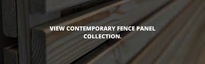 Contemporary Fencing Modern Fence Panels Slatted Screen Fencing
