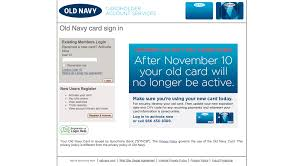 old navy visa credit card login make