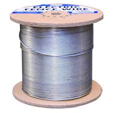 Farmgard 1 4 Mile 14 Gauge Galvanized Electric Fence Wire 317774a The Home Depot