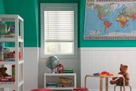 White Wood Blinds Lafayette Accu Rise Wood Blinds Kids Room Modern Kids Denver By Windows Dressed Up