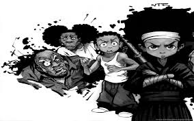 boondocks wallpaper hitting the folks
