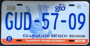 Transportation Guanajuato Mexico Auto Novelty License Plate Placa Gto Mexican Flag Lantierstructures Com