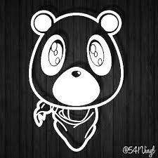 Kanye West Bear Drawing Posted By John Walker