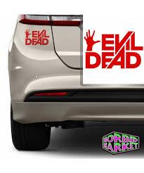 Vinyl Decal Evil Dead Logo