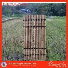 Natural Bamboo Half Raft Panel Bamboo Panel And Bamboo Screen