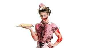 costume into a zombie costume