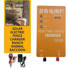 10km Solar Electric Fence Garden Energizer Charger High Voltage Pulse Controller Animal For Garden Fencing Shepherd Xsd 280b Fencing Trellis Gates Aliexpress