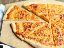 cheese only thin crust pizza um 12