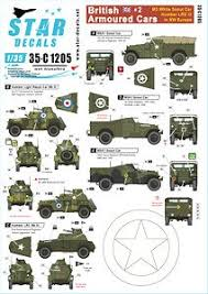 British Armoured Cars 2 M3a1 White Scout Car And Humber Lrc Iii In Nw Europe Decal Hobbysearch Military Model Store