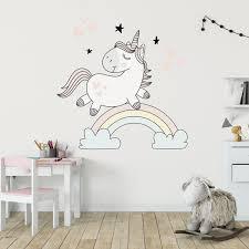 Unicorn Rainbow Decal Set Labeldaddy