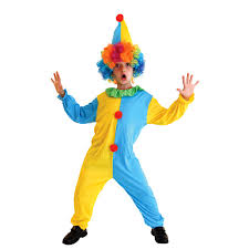 Boys Halloween Joker Costumes Children circus clown Cosplay Kids ...