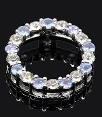 blue sapphire crystal circle of life
