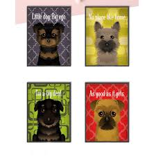 cute posters as good as it gets dog quotes and prints canvas