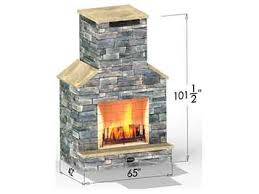 lexington outdoor fireplace outdoor