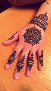 Back Gola Mehndi Design