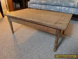 antique wood coffee table or child s