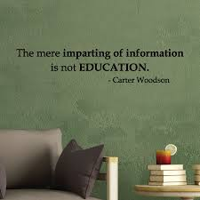 imparting of information wall quotes decal com