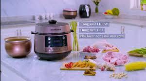 Giới thiệu Nồi Áp Suất Điện Tử Bluestone PCB 5763 nấu siêu ngon mà giá lại  mềm - YouTube
