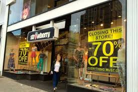clothing closing on austin street