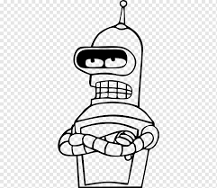 Bender Planet Express Ship Sticker Nibbler Decal Bender Text Hand Monochrome Png Pngwing