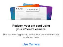 how to redeem itunes gift card on
