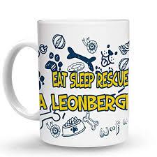 com makoroni eat sleep rescue a leonberger dog dogs